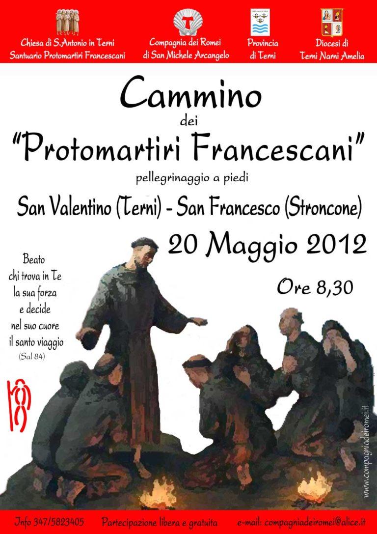 2012 Cammino Protomartiri Francescani