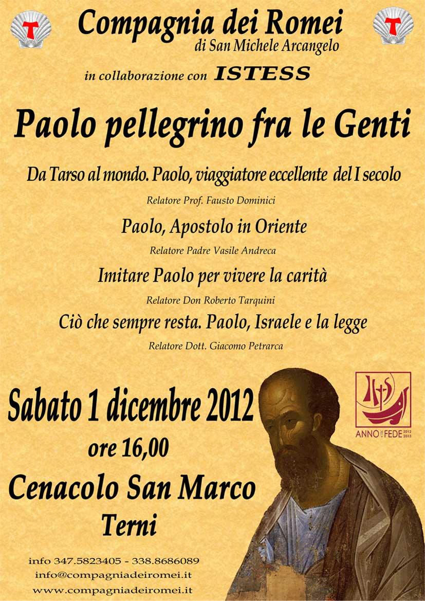 2012 Paolo pellegrino fra le Genti