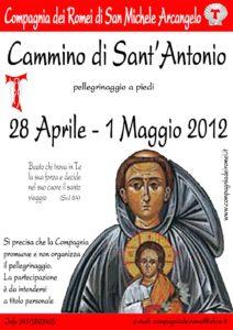 2012 Cammino di Sant'Antonio
